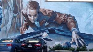 Edward 'Chick' Davis Mural