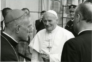 Picture of Pope John Paul II.