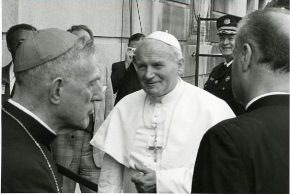 Picture of Pope John Paul II.