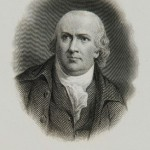A Portrait of Robert Morris, the founder of the Bank of North America.