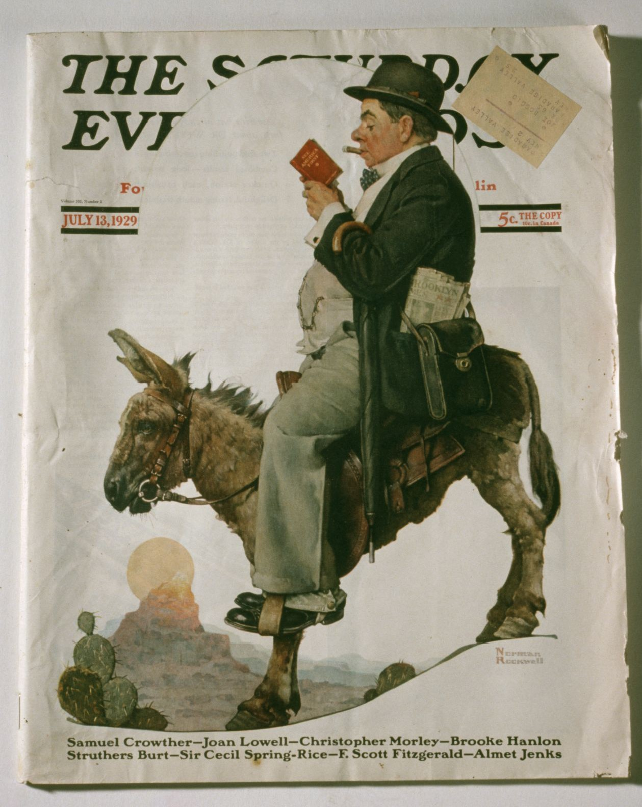 The Saturday Evening Post | February 2, 1929 at Wolfgangs