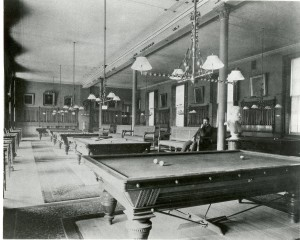 The Billiards room at the Union League