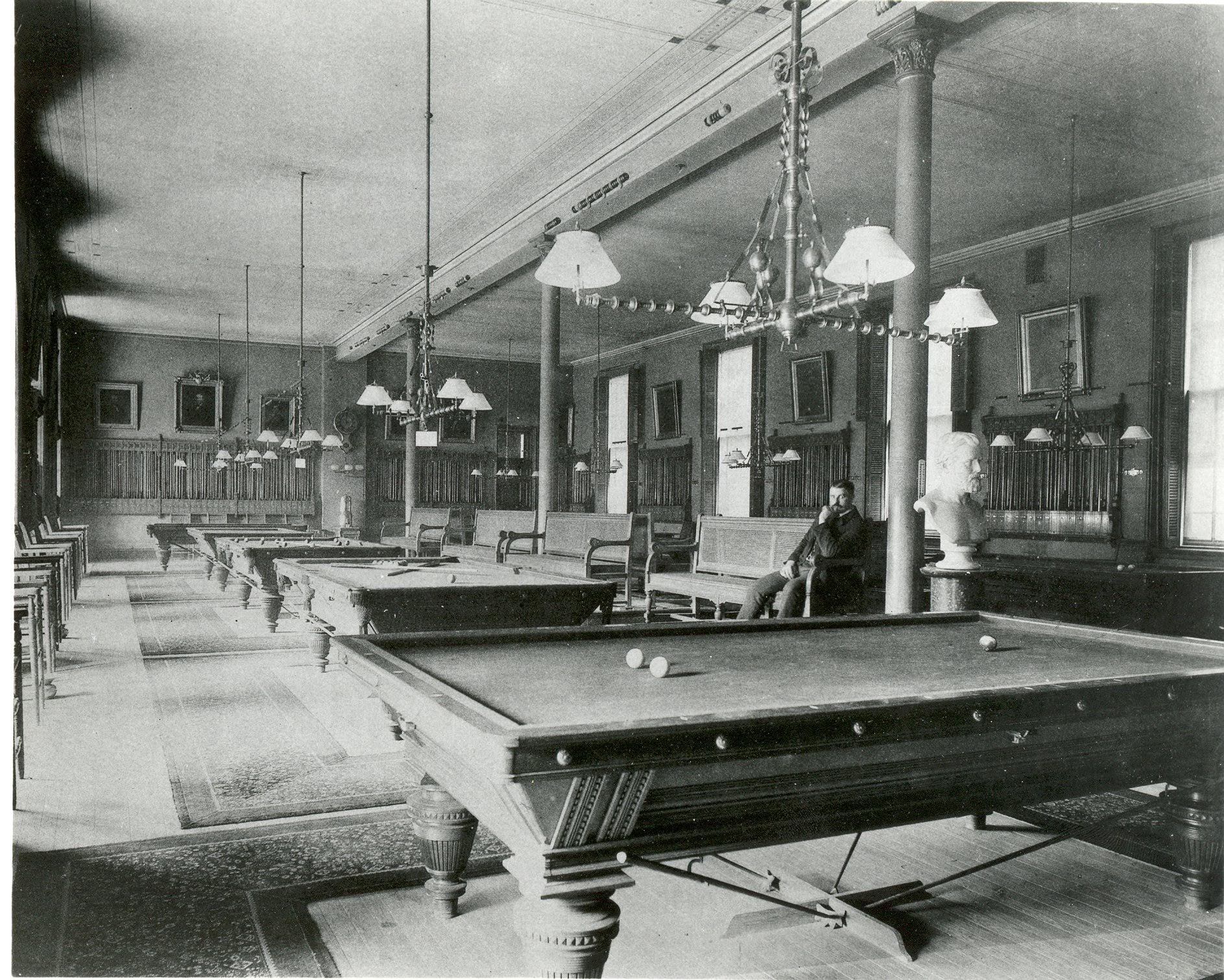 Billiards Pool Encyclopedia Of Greater Philadelphia - Kensington pool table