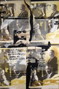 Allan Edmunds, MLK's Humanity of Man, 2001(Pennsylvania Academy of Fine Arts)