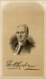 Thomas Wharton, a member of the Council of Safety, corresponded with  Thomas Savadge as Savadge tried to launch the Pennsylvania Salt Works in Tom's River, New Jersey. (Historical Society of Pennsylvania)