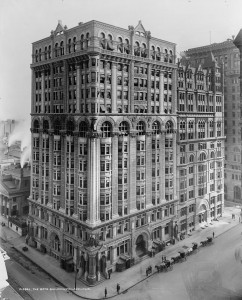 The Betz Building in 1900.