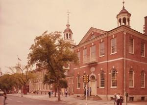 Photograph of the original seat of the U.S. Congress.