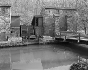 DuPont gunpowder mill.