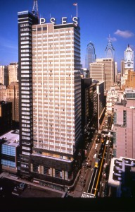 The PSFS Building, now called the Loews Hotel.