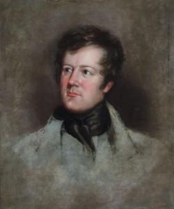 Portrait of Robert Montgomery Bird.