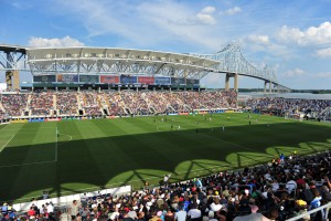 PPL Park in Chester, Pennsylvania, home to the Philadelphia Union