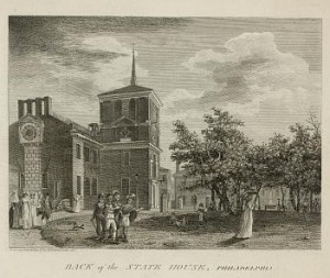 drawing of the state house