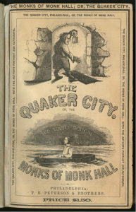 cover of the book Monks of Monk Hall, or, The Quaker City