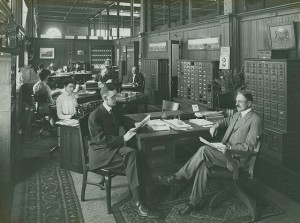A look inside of the Bureau of Information. (Independence Seaport Museum)