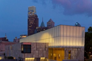 The new Philadelphia location of the Barnes Foundation at dusk. (Visit Philadelphia)