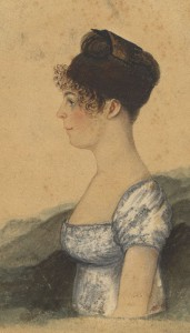 Susanna Rowson was a writer and actor during the late eighteenth and early nineteenth centuries, best known for her novel Charlotte Temple: A Tale of Truth, a book many consider to be the first best selling novel in U.S. history. (Albert and Shirley Small Special Collections Library, University of Virginia)