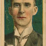 A sports card featuring Connie Mack