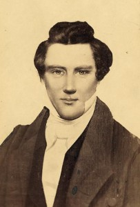 A photographic portrait of Joseph Smith Jr.