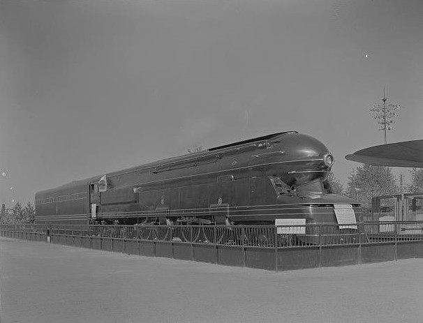 Pennsylvania Railroad S1 Locomotive At The New York World