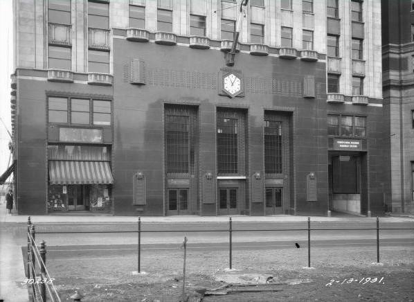 Suburban Station Entrance, 1931   Encyclopedia of Greater ...