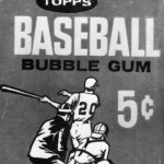 A package of Bubblegum costing only five cents