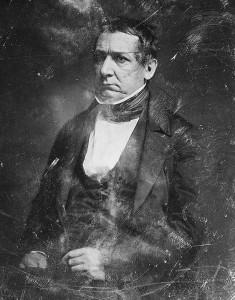 a black and white daguerreotype of William Morris Meredith circa 1844