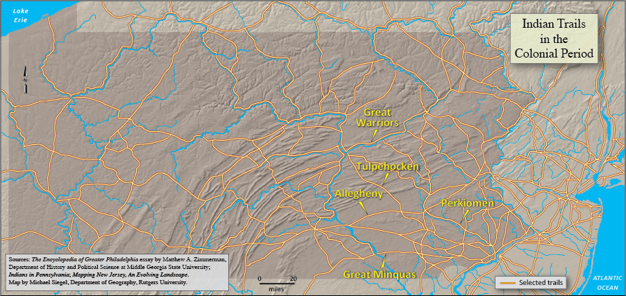 Trails (Indian) | Encyclopedia of Greater Philadelphia on
