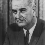 Photograph of President Lyndon B. Johnson.