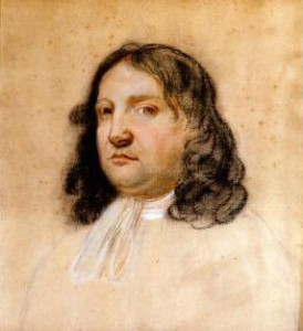 Color portrait of William Penn painted by Francis Place.