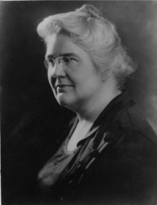 Photograph of Dr. Lucy Wilson, the first female winner of the Philadelphia Award.