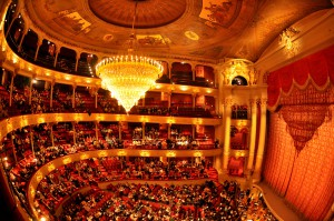 The Academy of Music home to the Philadelphia Award Ceremony from 1921 to 1950.