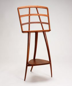 An image of a music stand crafted by Wharton Esherick.