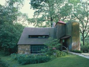 A color photograph of Wharton Esherick's Paoli Studio.