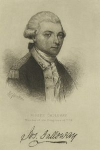 Portrait of Joseph Galloway