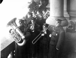 Member of the Police Band in 1918.