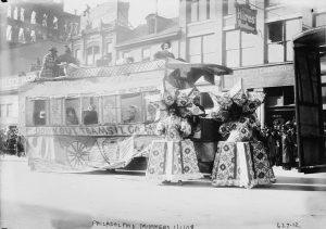 Mummers in blackface in 1909.