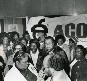 Members of the Association of Community Organizations for Reform Now (ACORN) were instrumental in combating redlining in the 1980's