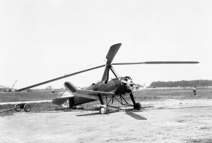 The Pitcairn PCA-2 Autogiro in 1961.