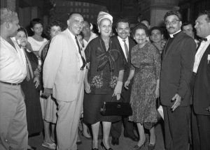 Mayor of San Juan, Puerto Rico, Felisa Rincon de Gautier, visiting Philadelphia in 1961.