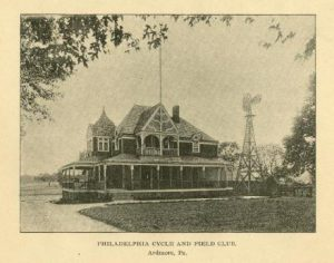 External View of the Philadelphia Cycle and Field Club.