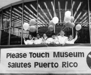 "Children at the Please Touch Museum's ""Salute to Puerto Rico,"" held in 1983."