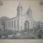 an illustration of Saint Michael's Church