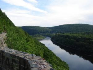View of the Delaware River from New York.