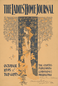 Ladies Home Journal cover from October 1895