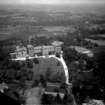 an aerial photograph of the Sisters of Mercy Convent.