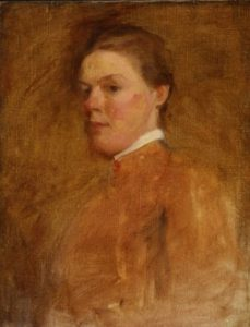 Self Portrait of Cecilia Beaux
