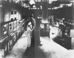 The ENIAC While it was Still Located at the University of Pennsylvania.