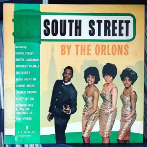 Album Cover for the Album South Street by The Orlons.