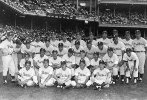 Team Photo of the 1950 Philllies Team, Known as the Whiz Kids.