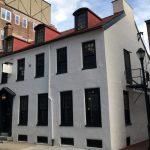 color photo of the Franklin Inn Club on Camac Street.